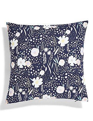 Loft Floral Print Cushion Home