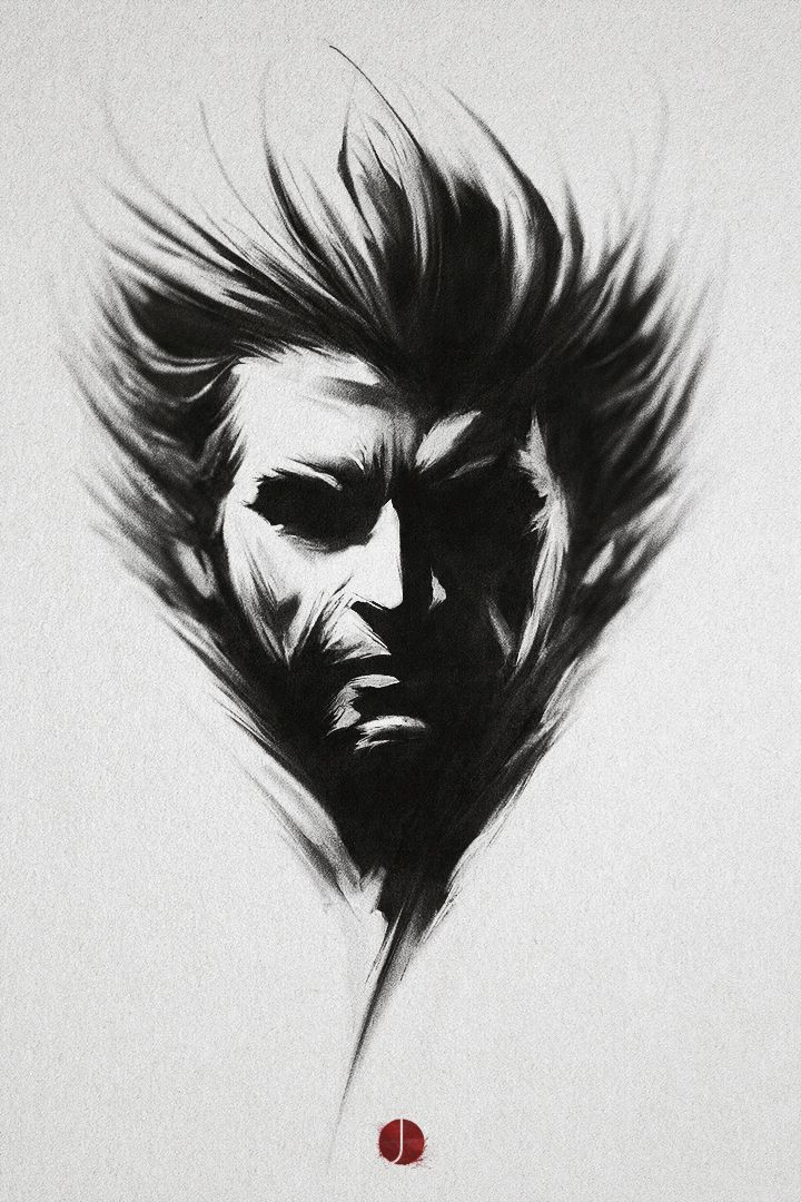 Logan - by *PhotoshopIsMyKung-Fu | #comics