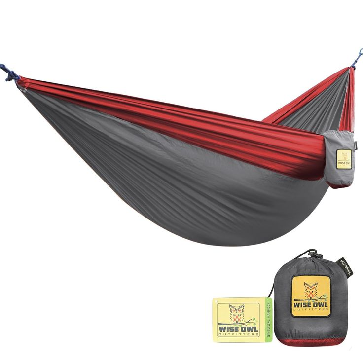 The Ultimate Single Camping Hammocks- The Best Quality Camp Gear For Backpacking Camping Survival and Travel- Portable Lightweight Parachute Nylon Ropes and Carabiners Included! ** Check out the image by visiting the link.
