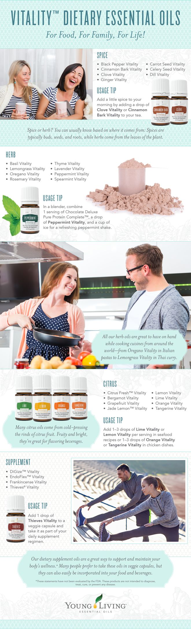 Find our best recipes for the Vitality Line of Young Living Essential Oils from RecipeswithEssentialOils.com