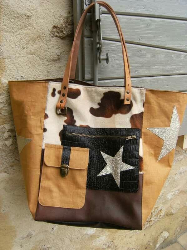 Cabas western Shopping bag cathanne bag