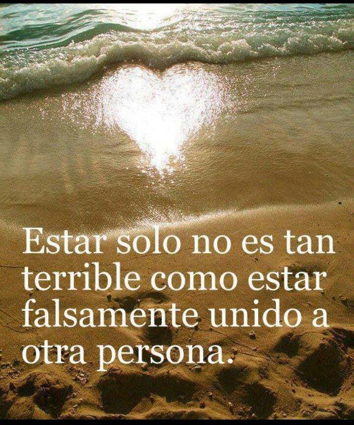 Estar sol@ es también Maravilloso...sobre todo si lo que vas a tener cerca no es Autentico y Amoros@ :)