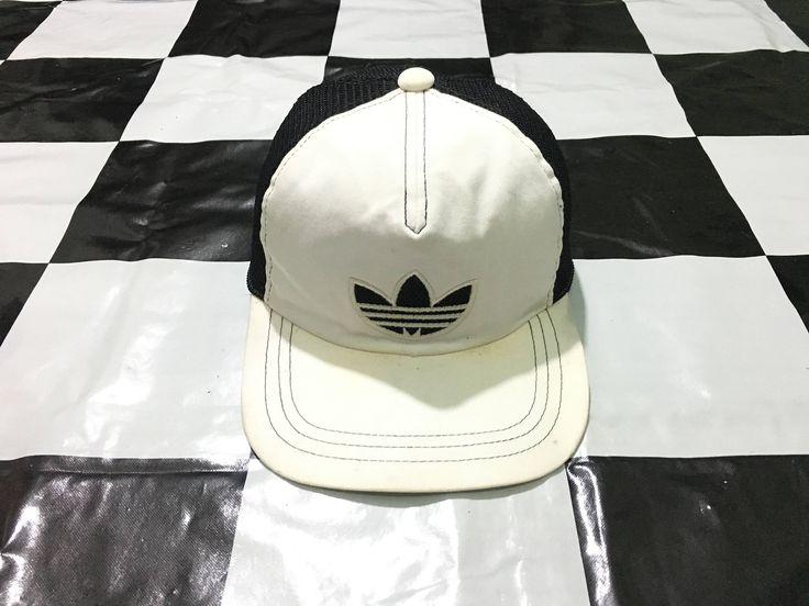 Vintage Adidas trucker cap Trefoil logo by AlivevintageShop on Etsy