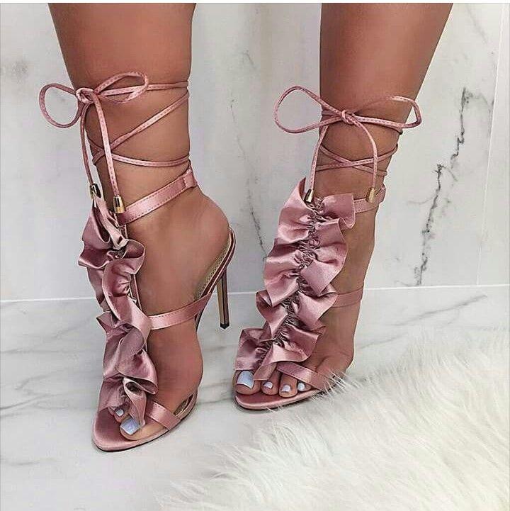 | Ruffled Heels |