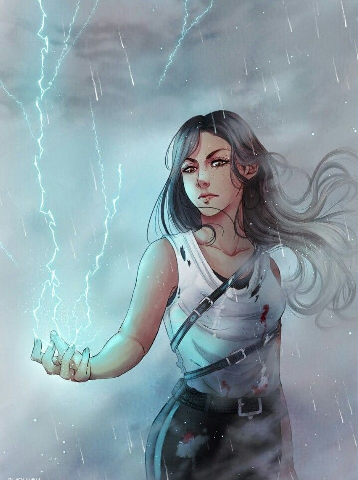 Mare Barrow<<Though her lighting is purple,but it's an amazing drawing