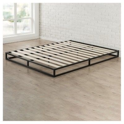 6 Platforma Metal Bed Frame   Queen   Black   Zinus. Best 25  Full metal bed frame ideas on Pinterest   Garden benches