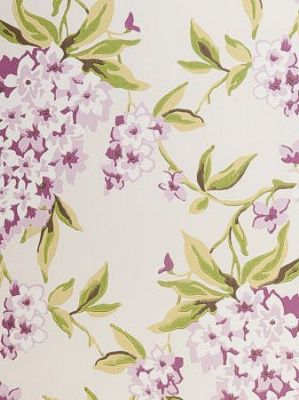 DecoratorsBest - Detail1 - CC W0022-2 - Wisteria - Mauve - Wallpaper - DecoratorsBest