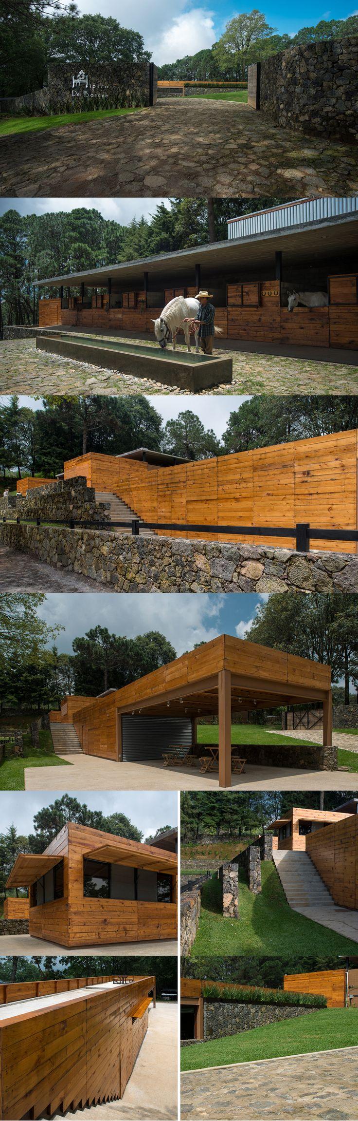 Equestrian Center, Cuernavaca, Mexico by APT Arquitectura Para Todos