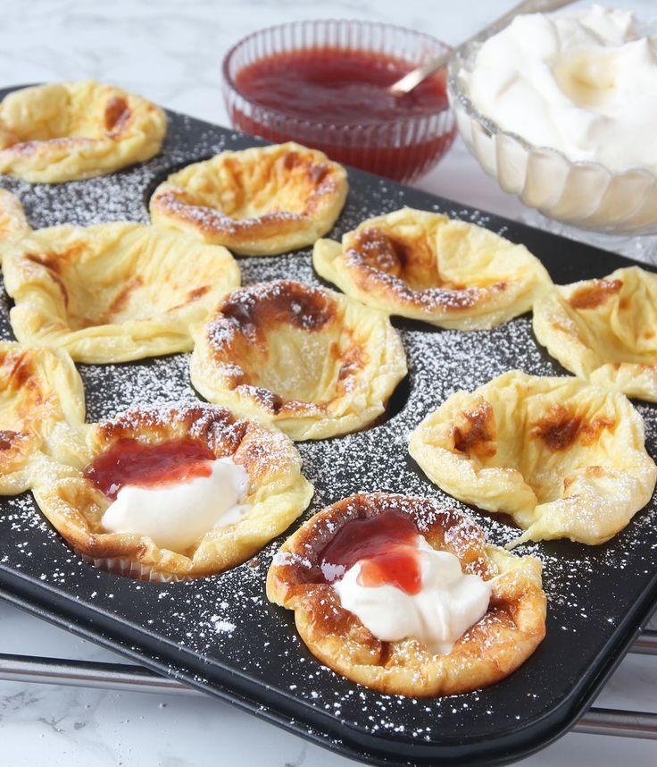 Pannkaka i muffinsform – Lindas Bakskola
