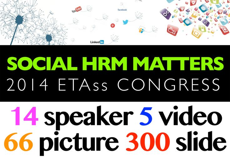 Tutti i materiali pronti per il download sul sito di ETAss.it - http://www.etass.info/1/social_hrm_matters_materiali_3783503.html