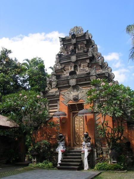 Ubud Palace.  I love Bali!