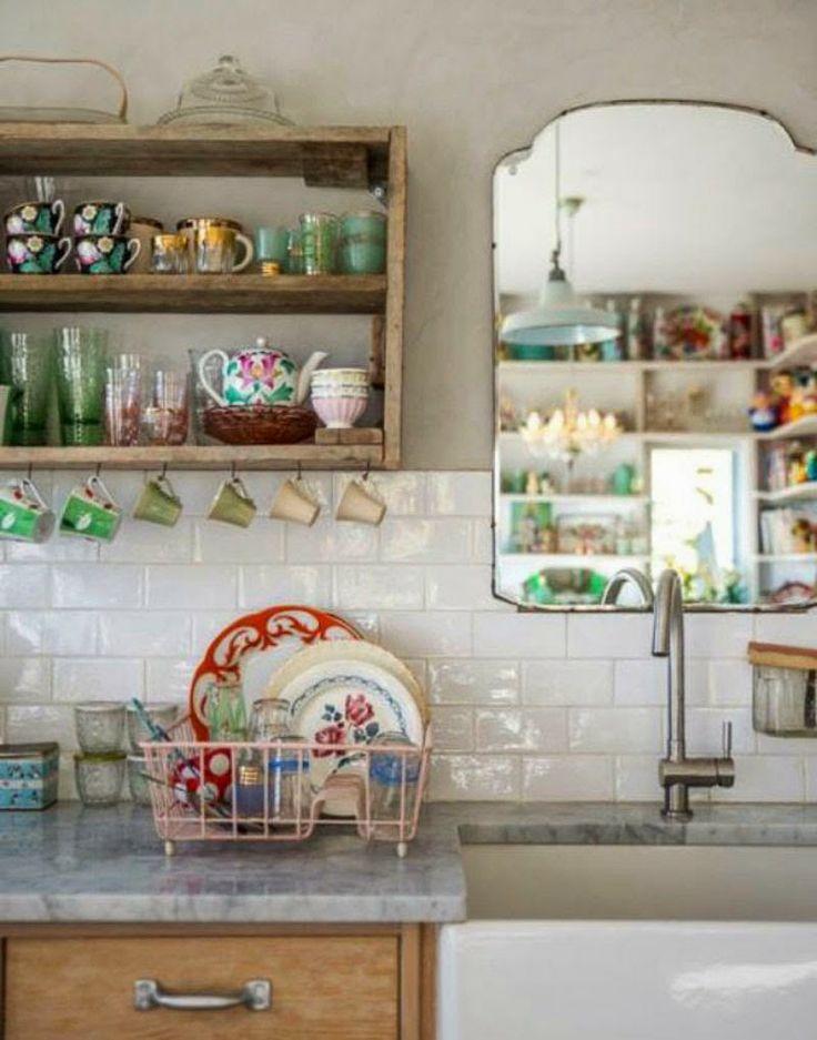 51 best images about espejos on pinterest antigua - Como decorar un espejo sin marco ...