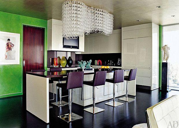 Elton John's kitchen