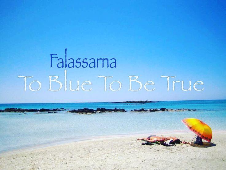 Into the blue ... In Falassarna / Μέσα στο Μπλε της θάλασσας και τα Φαλάσαρνα #falasarnabeach #фаласарна #falasarna #φαλάσσαρνα #kissamos #κίσσαμος #crete #chania #summer_2016 #kissamos_is_beautiful