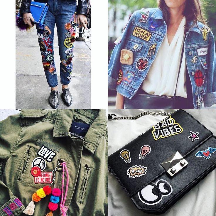 #trendalert #patches!  Otra #tendencia que se viene es customizar tus prendas…