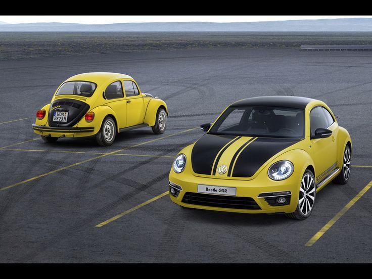 2013 Volkswagen Beetle GSR - Yellow Black Racer 3