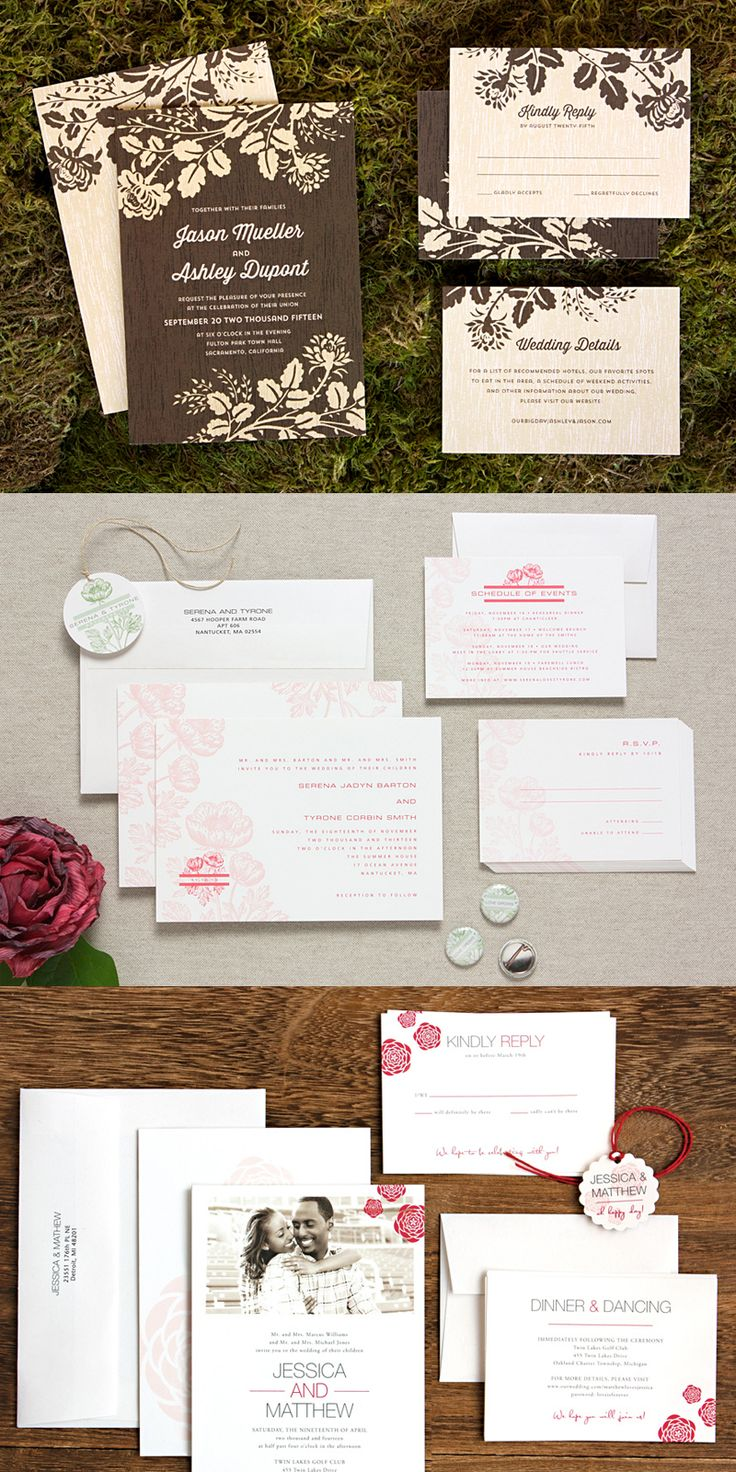40 Beautiful Wedding Invitations Cards u0026 Kit