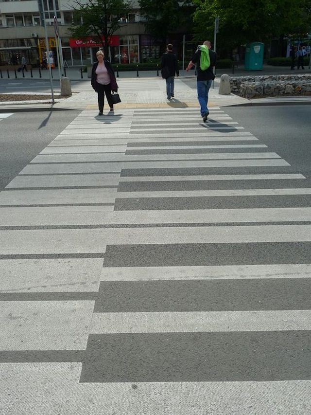 Piano Keys Cross Walk Street Art
