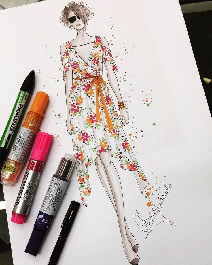 Super great week for us!! Be grateful!! . . . #love #begrateful #gratitude #fashion #ilustracaodemoda #draw #girl #fashionillustration #fashionsketche #markers #winsorandnewton #promarkers #sketchbook #awesome #beautiful #girlygirl #flowerdress #flowers #picoftheday #illustration #fashiondraw #copic #tutorial #mondaymood #joaopessoa #paraiba #pilot #colorful