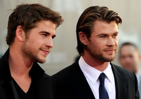 Liam and Chris: Chris Hemsworth, But, Chrishemsworth, Boys, Hemsworth Brother, Liam Hemsworth, Liamhemsworth, Beautiful People, Families
