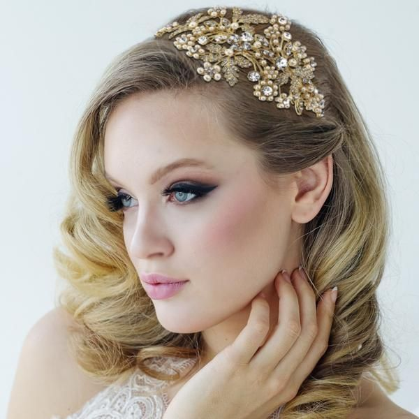 Karina Gold Statement Headband