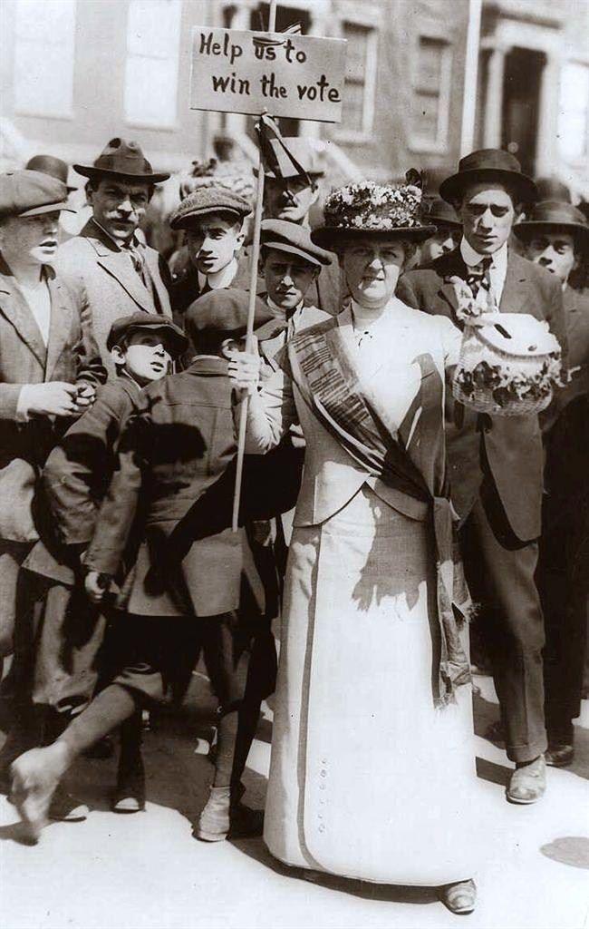 1914 suffragette