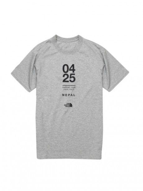「ザ・ノース・フェイス」ネパール地震の被災地を支援するチャリティーTシャツを発売の画像