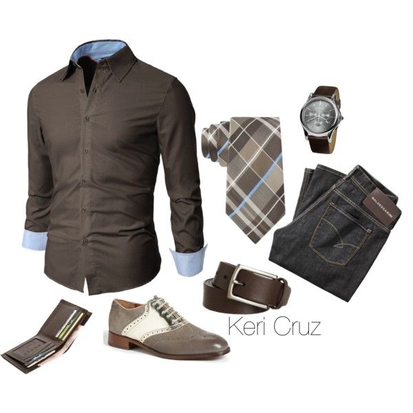 A fashion look from December 2014 featuring Sean John. Browse and shop related looks.