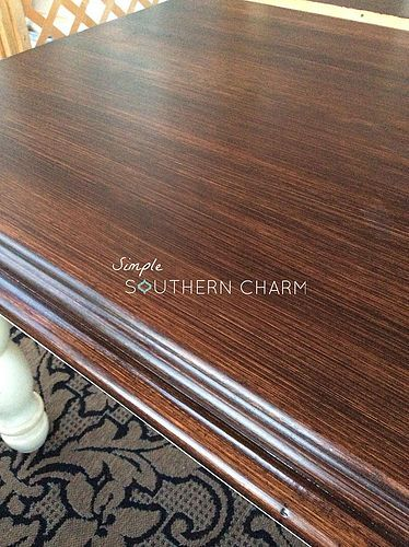 Java Gel Stain To Help Fix Up Furniture