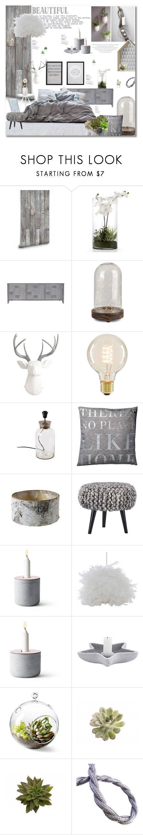 """Bedroom Dreams"" by dittestegemejer on Polyvore featuring interior, interiors, interior design, home, home decor, interior decorating, Milton & King, Bloomingville, House Doctor and Menu"