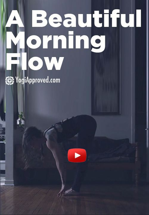 A beautiful morning flow (video) - YogiApproved.com ... Maybe someday I'll be close to being able to do this