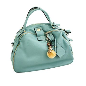 .: Gorgeous Colors, Fashion Korean, Messenger Bags, Blue Bags, Ooh, Gorgeous Bags, Big Purses, Nice Pastel, Gorgeous Purses