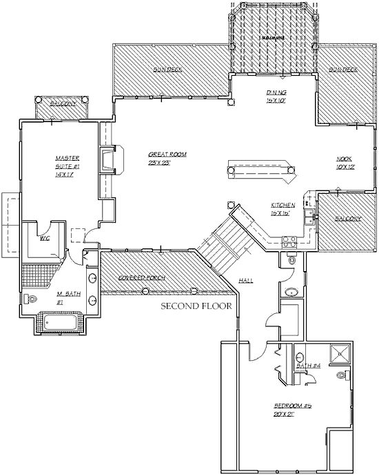 23 best images about inverted living designs on pinterest for Inverted house plans