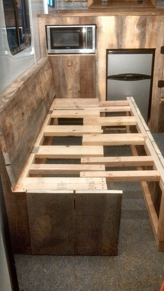 How to build trailer couches - Google Search