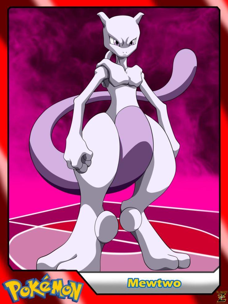 (Pokemon) #150 Mewtwo by el-maky-z.deviantart.com on @DeviantArt