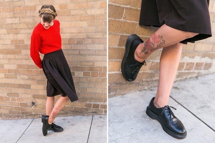 Aprende a hacer tatuajes temporales en tus piernas con unas pantimedias