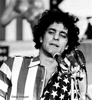 "APRIL 12, 1989 - ""Abbie Hoffman, the writer and antiwar protester who founded the Yippie movement in the 1960's and became a symbol of radical activism, was found dead Wednesday night at his home in New Hope, Pa. He was 52 years old."" Read more: http://www.nytimes.com/1989/04/14/obituaries/abbie-hoffman-60-s-icon-dies-yippie-movement-founder-was-52.html?pagewanted=all=pm"