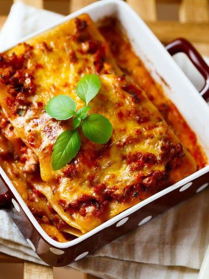 lasagna me kima kai mozzarela