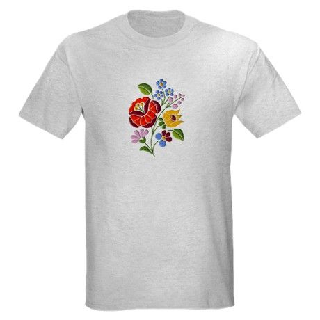 SOLD one on CafePress: Kalocsai Embroidery - Hungarian Folk Art T-Shirt