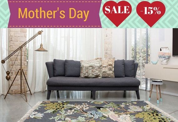 Gray area rug,floral area rugs, 4x6 area rug, modern area rugs,rugs online,rug store,area rugs for sale,affordable area rugs, FREE SHIPPING! by Carpetism on Etsy https://www.etsy.com/listing/224503629/gray-area-rugfloral-area-rugs-4x6-area