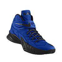 I designed the game royal Nike Zoom LeBron Soldier VIII iD men\u0026#39;s basketball shoe with black trim. | Shoes | Pinterest | Black Trim, Nike Zoom and Basketball ...