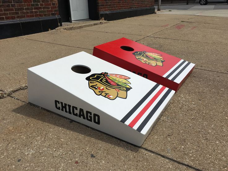 Hand Built, Hand Painted, Ultra High End Custom Cornhole Boards.