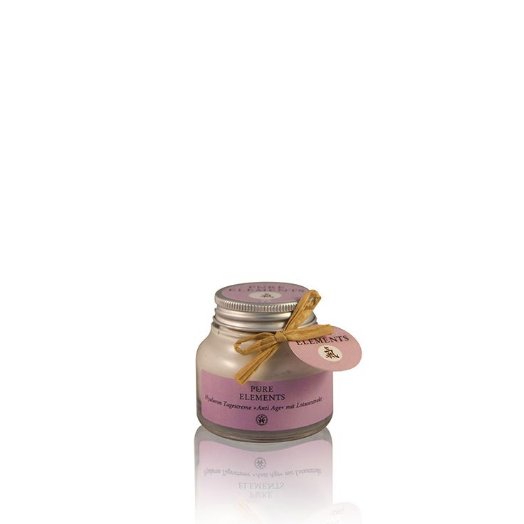 Pure Elements Hyaluron Dagcrème Anti-age (50ml)  http://www.purelements.nl/product/antiaging-dagcreme-hyaluronzuur/