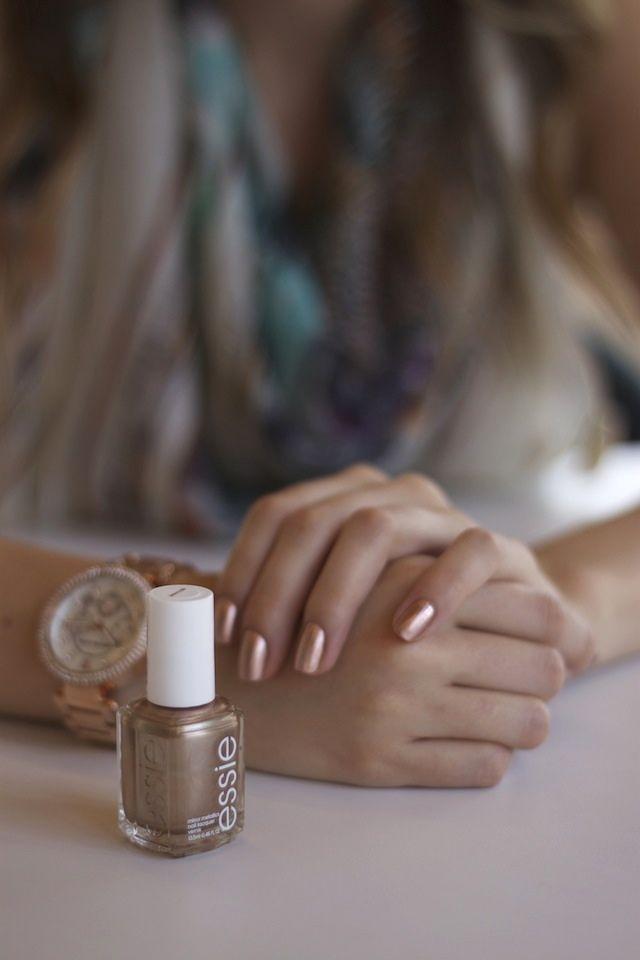 175 best Metallic nails images on Pinterest | Nail polish, Autumn ...
