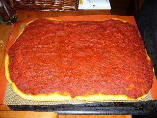Pizza froide aux tomates - Recette Ptitchef
