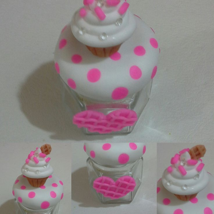 souvenir frasco cup cake
