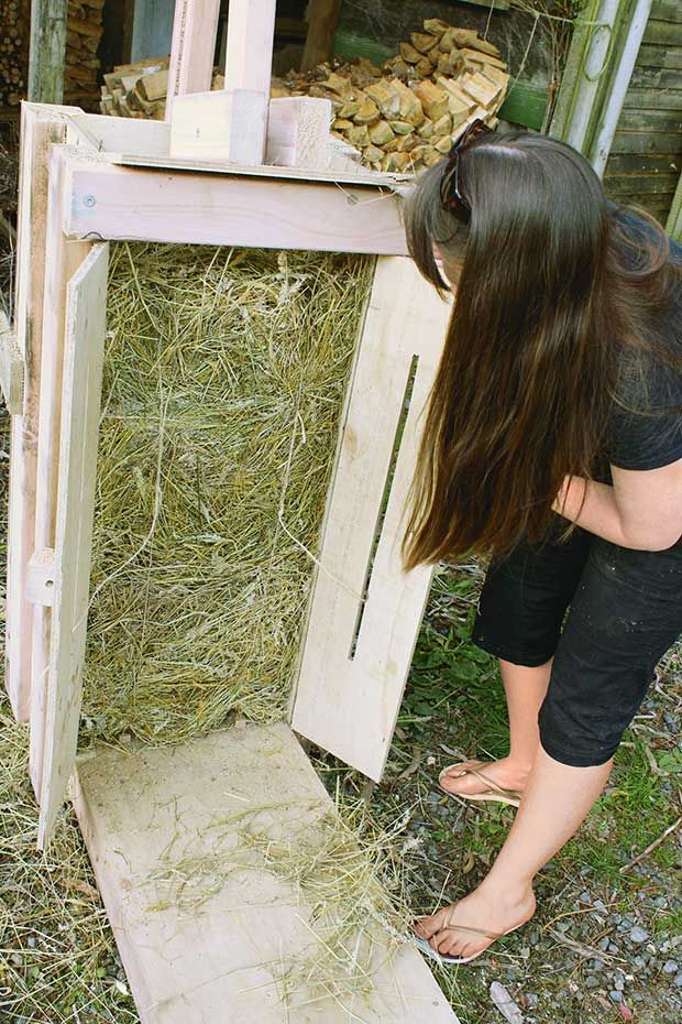 Make hay the oldfashioned way with this homemade hay