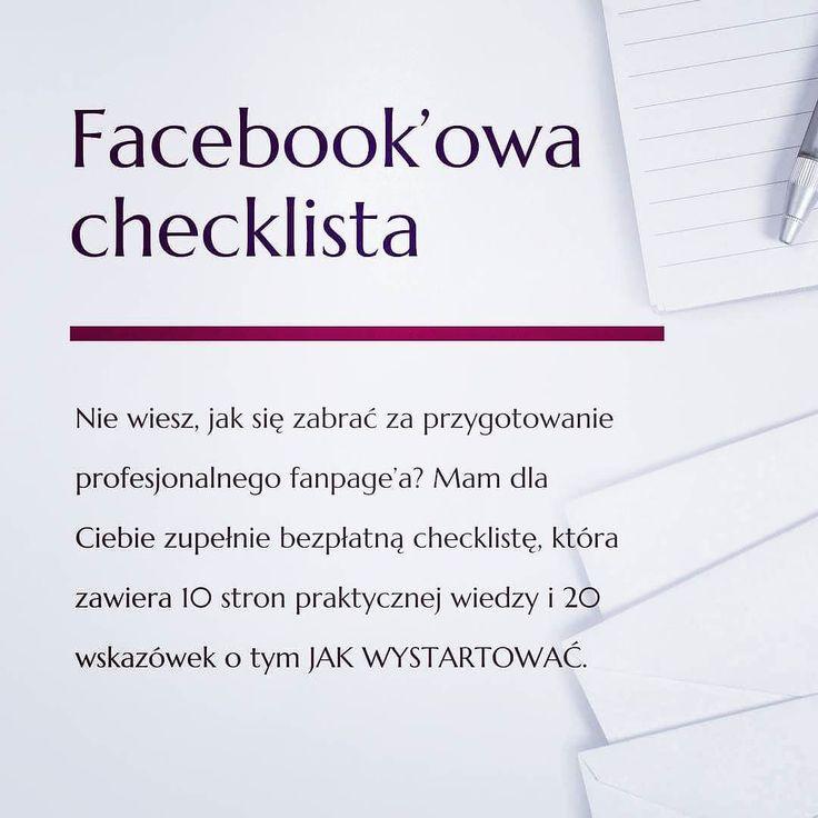 No dobra SPRAWDZAM !  Kto pobrał już checklistę?  Link jak zwykle znajdziecie w bio  ______________________ Koniecznie dajcie znać jak Wam się podoba co poprawić co ulepszyć  #akademiaprofesjonalizmu #bussines #socialmedia #blog #blogger #company #lifestyle #courses #education #checklista #facebook #tips