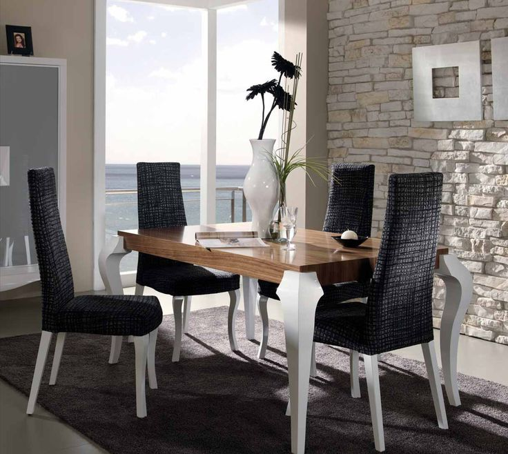 75 best images about auxiliares sal n on pinterest mesas for Sillas comedor polipiel beige