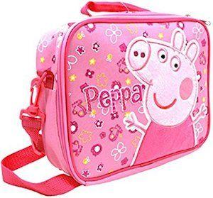 Pink Peppa Pig Lunch Box - http://www.thlog.com/pink-peppa-pig-lunch-box/